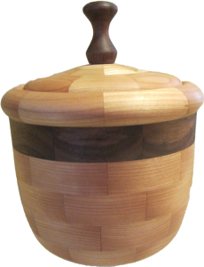 Segmented Candy Jar