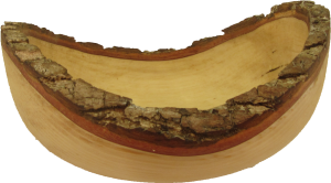 Natural Edge Bowl in Gum