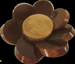 Wood Flower Walnut and Maple