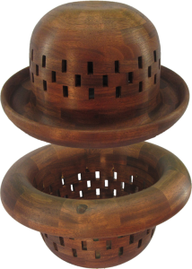 Walnut Bowler Hat Bowl