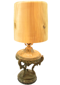 Cedar Lamp Shade