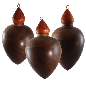 Walnut Ornament