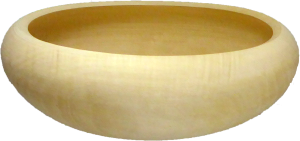 Poplar Calabash Bowl