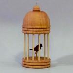 Christmas Birdcage Ornament